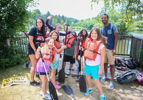 Cranbrook Kingswood Daycamp paddling