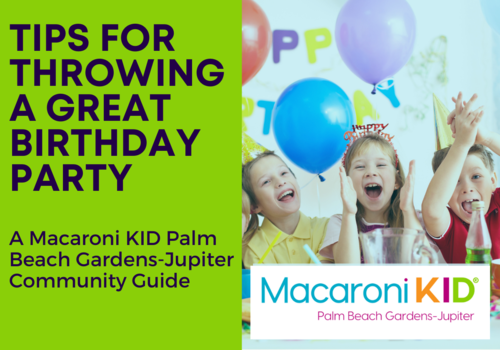 Tips for Throwing A Great Birthday Party