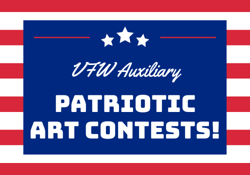Veterans of Foreign Wars Auxiliary announces art contest for kids