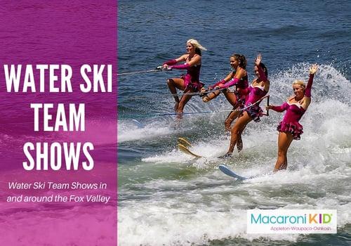 Water ski team shows