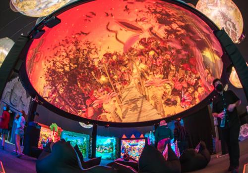 54-59% Off! Immersive Art & Music Dome Park! Mystic Universe