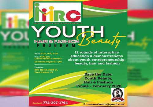 Multi-cultural resource center (MRC) Youth, Hair, Fashion & Beauty Series