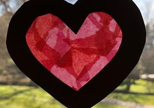 Valentine Heart craft for kids