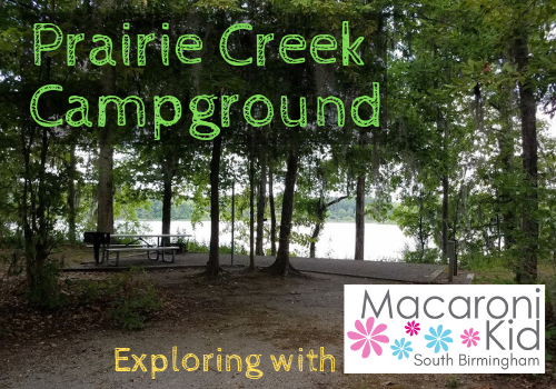 Review of Prairie Creek Campground in  Lowndesboro, Alabama: waterfront camping near Birmingham