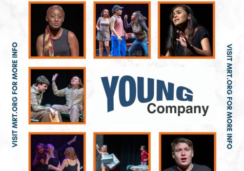 Teen theatre performers