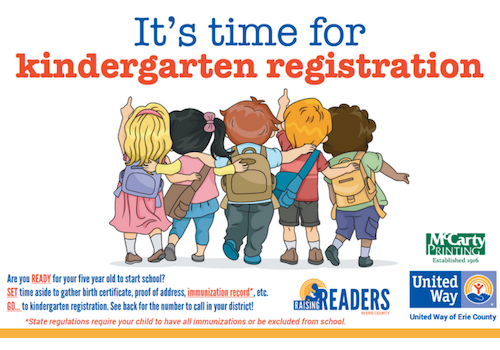 Kindergarten registration dates