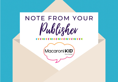 Note From Publisher Mac KID Dot