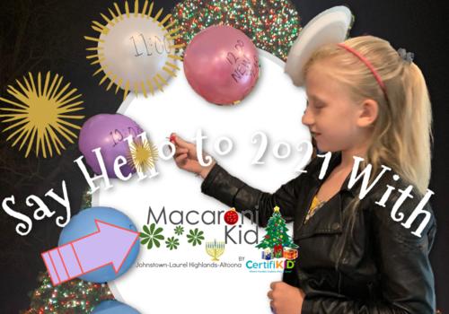 Celebrate new Year with macaroni Kid