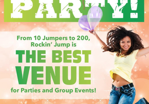 Rockin' Jump Birthday Parties Roseville CA