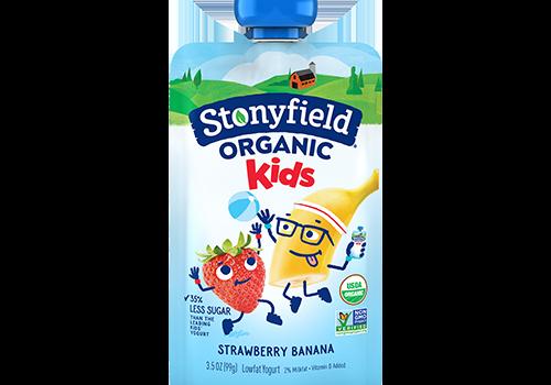 stonyfield organic kids yogurt pouches GMO free