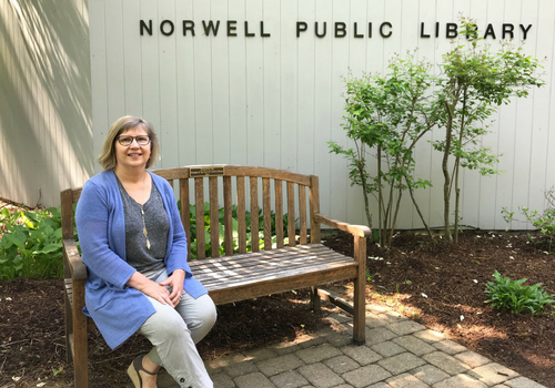 Norwell Public Library Children's Librarian Nancy Perry
