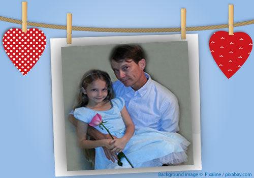 Daddy Daughter Valentine's Day