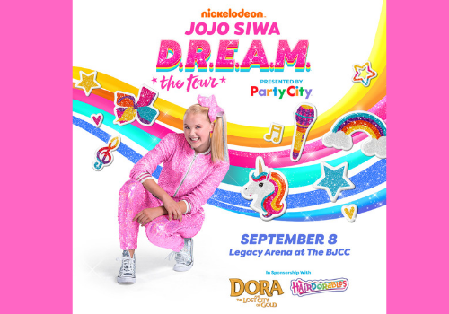 Win tickets to see JoJo Siwa, coming to the BJCC, September 8 in Birmingham, Alabama