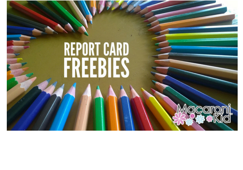 Report Card Freebies and Fun Guide