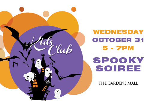Spooky Soiree at The Gardens Mall