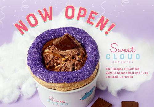 Sweet Cloud Creamery Carlsbad North County Ice Cream