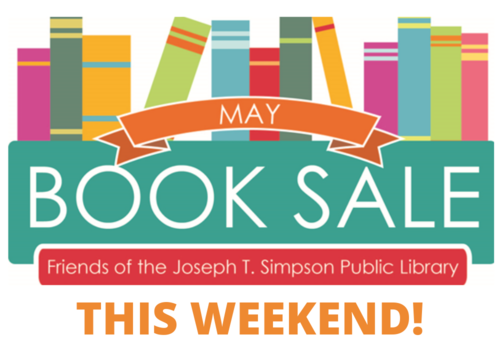 May Book Sale for Simpson Library