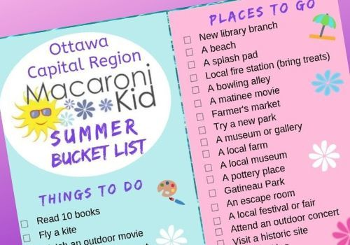 Ottawa Summer Bucket List