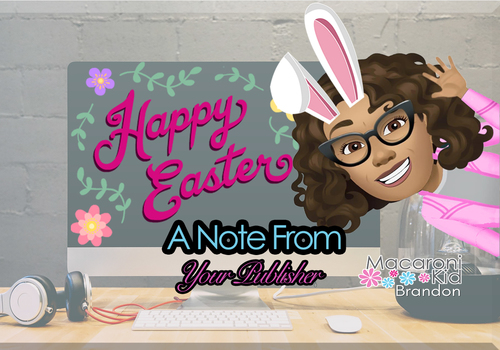 Note From Publisher Easter Edition