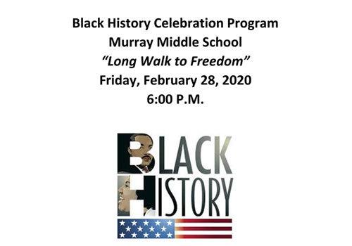 MCSD Black History Celebration 2020