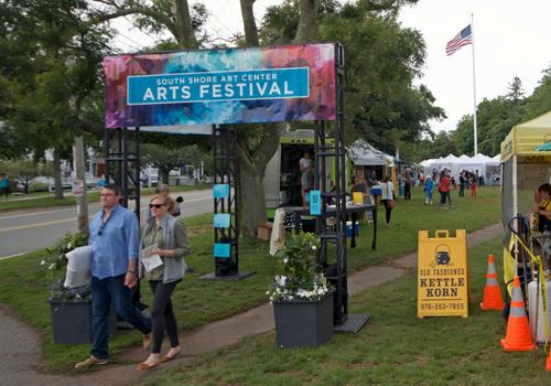 South Shore Art Center Arts Festival Cohasset MA