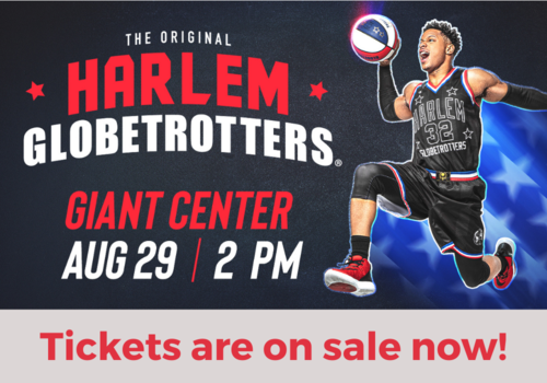 Harlem Globetrotters at the Giant Center in Hershey