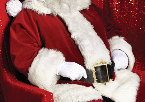 Santa Claus, Riverchase Galleria, Hoover, Alabama
