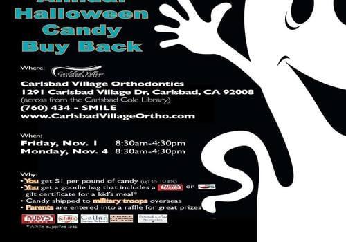Annual Halloween Candy Buy Back Carlsbad