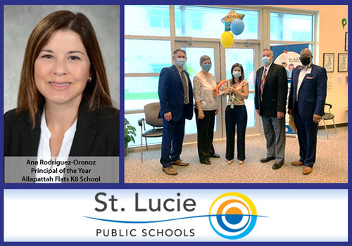 Ana Rodriguez-Oronoz, SLPS 2020 Principal of the year