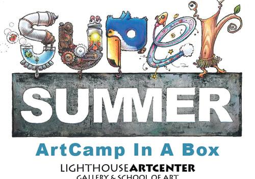 Lighthouse ArtCenter ArtCamp in a Box