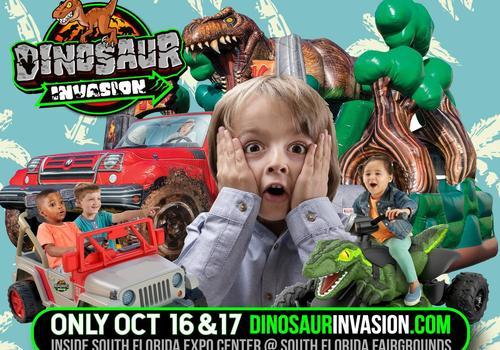 Dinosaur Invasion at South Florida Expo Center