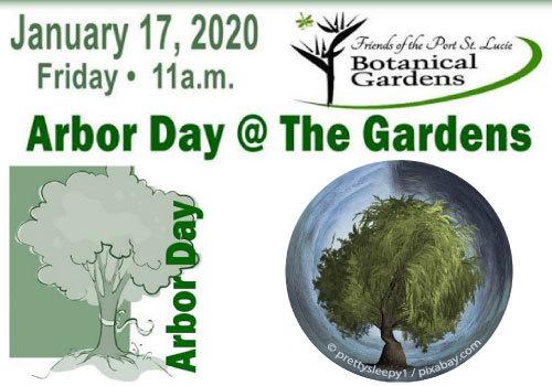 Port St. Lucie Botanical Gardens 2020 Arbor Day