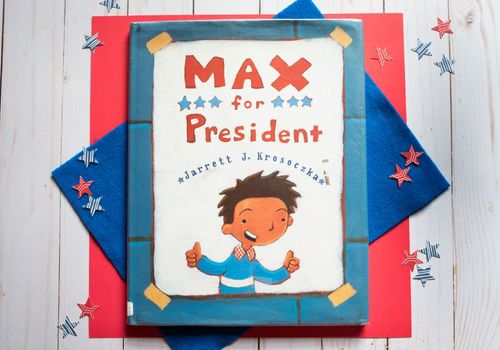 Max for president, elections, book review, children's book reviews