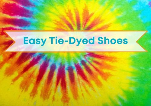 Easy Tie Died Shoes Cover Page