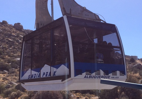 Sandia Peak Aerial Tramway Albuquerque NM