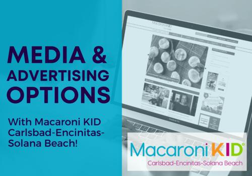 Partnering With Macaroni KID Carlsbad-Encinitas-Solana Beach