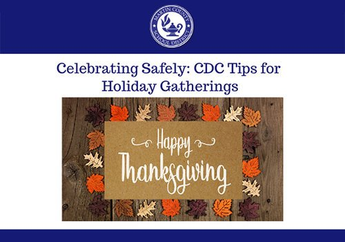 Martin County School District Thanksgiving 2020 CDC Safety Tips