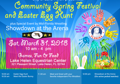 LAKE HELEN COMMUNITY SPRING FESTIVAL AND EASTER EGG HUNT