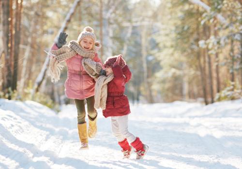 Winter Outdoor Kids Fun