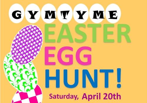 GymTyme Easter Egg Hunt