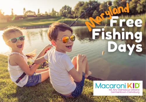 maryland free fishing