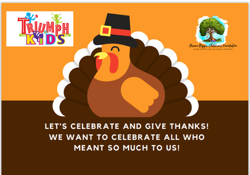 Thanksgiving Party at Triumph kids