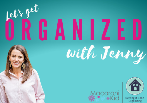 Getting Organized With Jenny