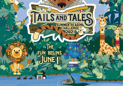Summer Reading Challenge Poudre River Public Library District Banner