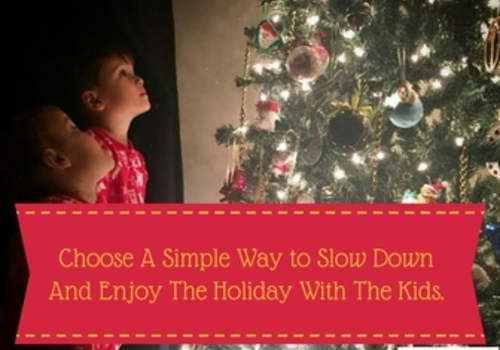 Choose A Simple Way To Slow Down
