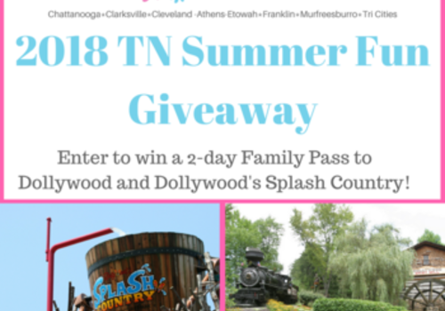2018 Tennessee Summer Fun Giveaway