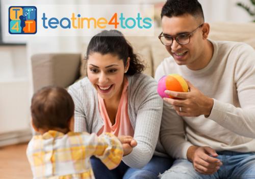 TeaTime4Tots Child Engagement