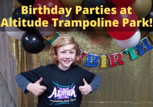 Reviews of Altitude Trampoline Park Birthday Parties for Kids in Pelham, Alabama, near Birmingham