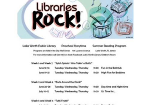Lake Worth Library Children's Room