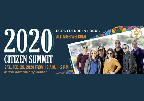 City of PSL 2020 Citizen Summit